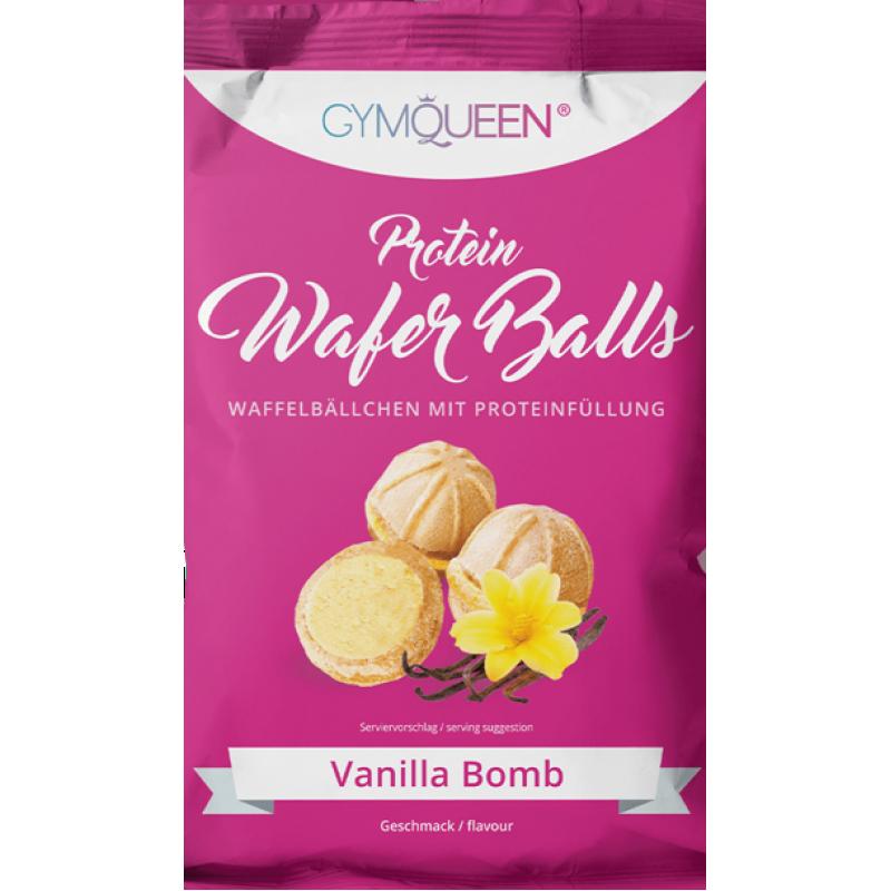 Gymqueen Queen proteiini vahvlipallid 75 g - vanilje
