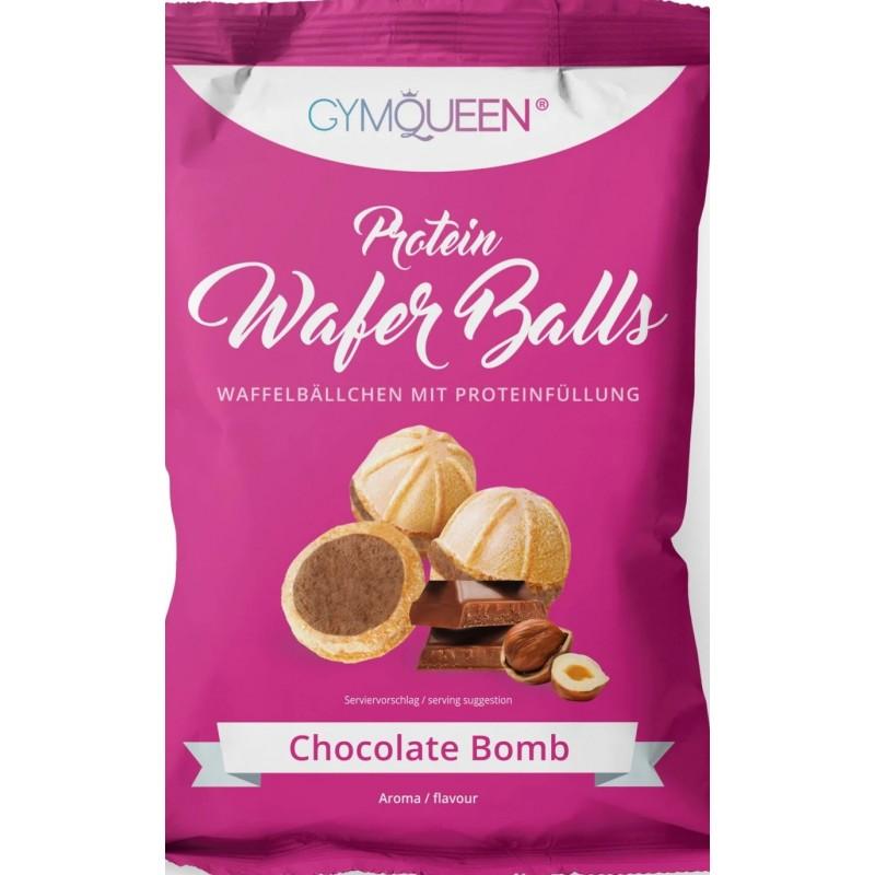 Gymqueen Queen proteiini vahvlipallid 75 g - šokolaad