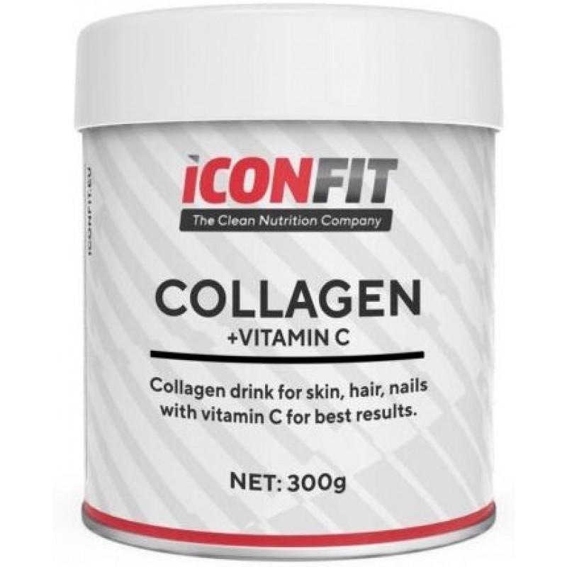 Iconfit Kollageen + Vitamiin C (Nahk, Küüned, Juuksed) 300 g