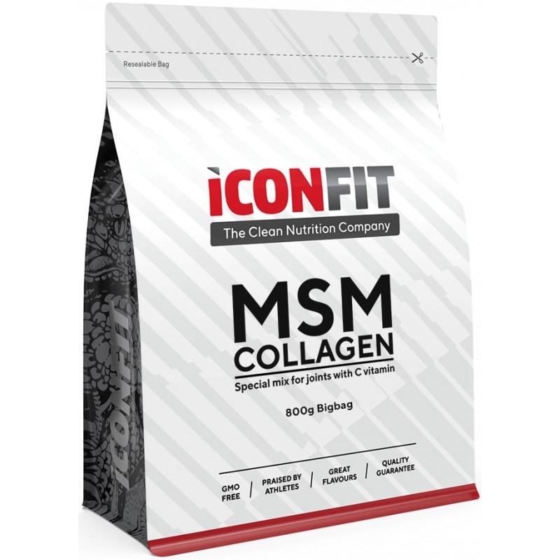 Iconfit MSM Collagen + Vitamiin C 800 g kott