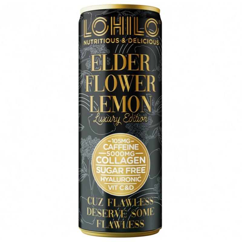 Lohilo Collagen functional drink 330 ml - Elder flower