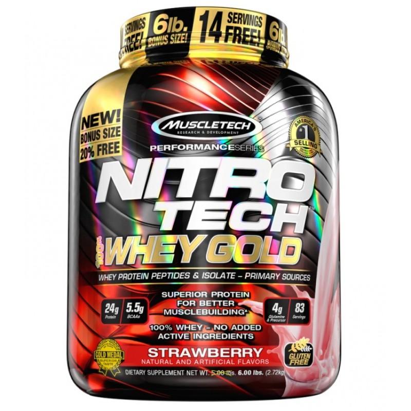 MuscleTech Nitro Tech 100% Whey 2508g