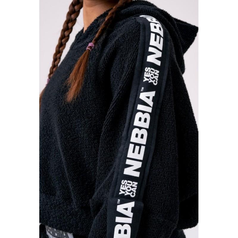 Nebbia Rebel Hero cropped hoodie 520, must foto