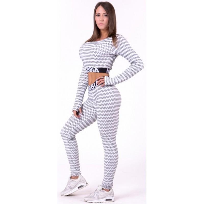 Nebbia Boho Style 3D pattern leggings 658, helehallid foto