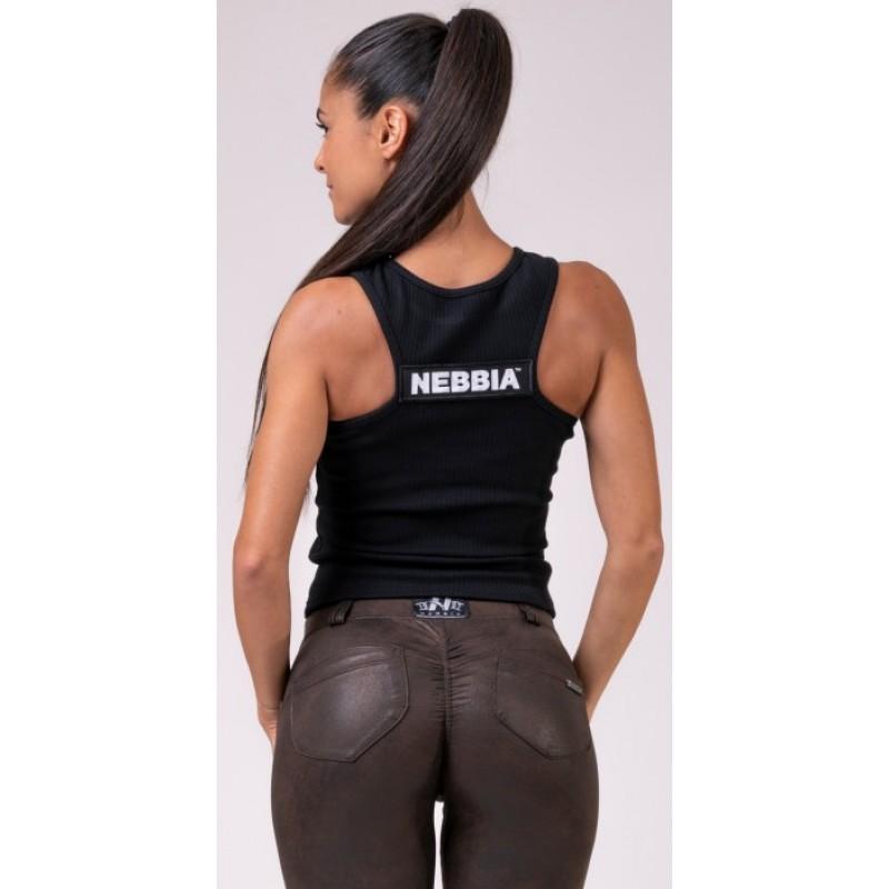 Nebbia Sports NEBBIA Labels crop top 516, must foto