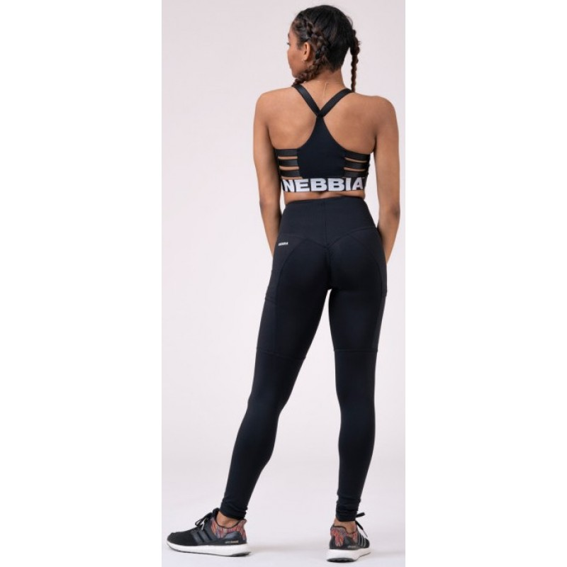 High waist Fit&Smart leggings 505, mustad