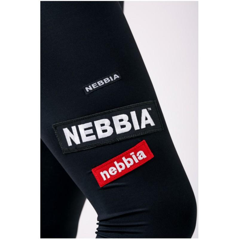 Nebbia High waist NEBBIA Labels leggings 504, mustad foto