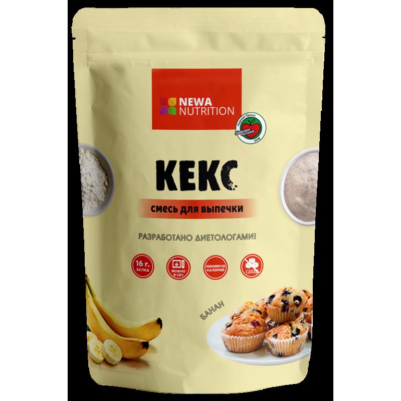 Newa Nutrition Keeksi küpsetussegu, banaani 200 g