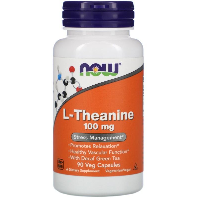 L-teaniin 100 mg 90 Vege kapslit