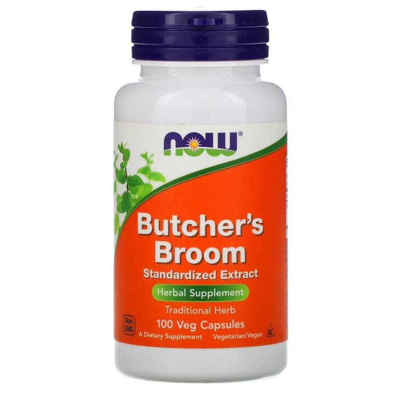 Butcher's Broom 100 mg Standardized Extract 100 Veg Caps