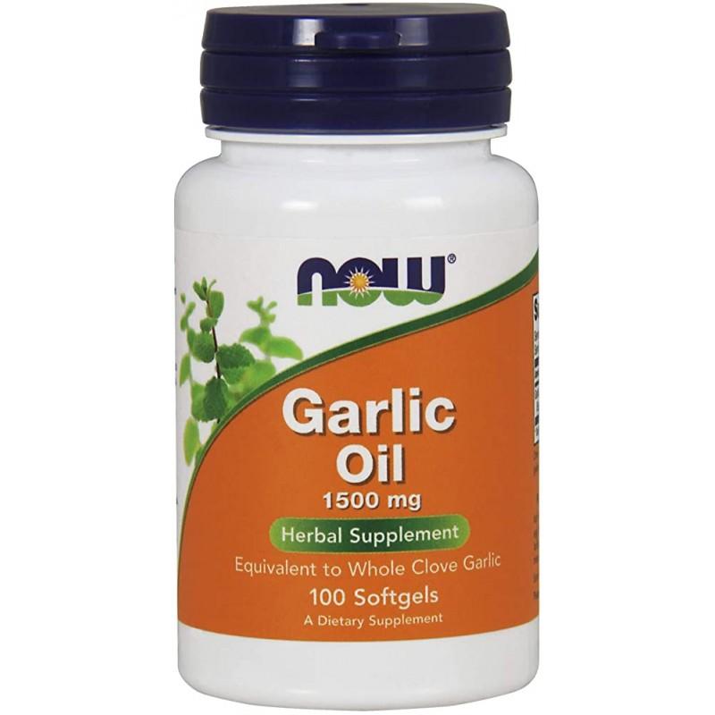Garlic Oil 1500 mg 100 Caps