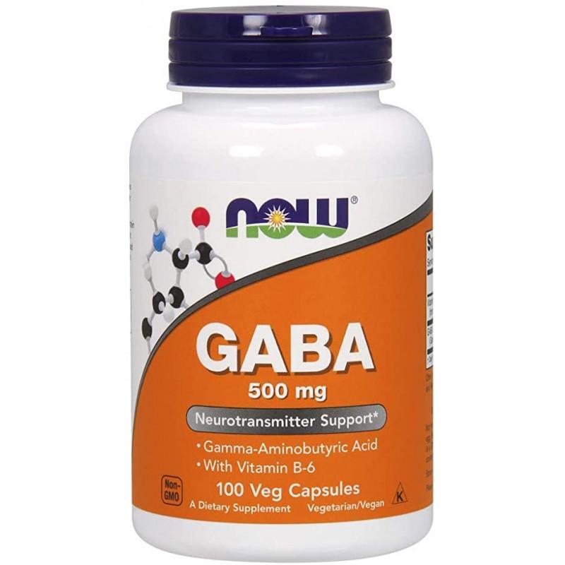 Gaba 500 mg Vege 100 Caps