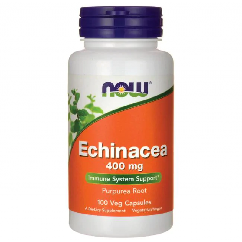 NOW Echinacea 400 mg 100 Vege kapslit