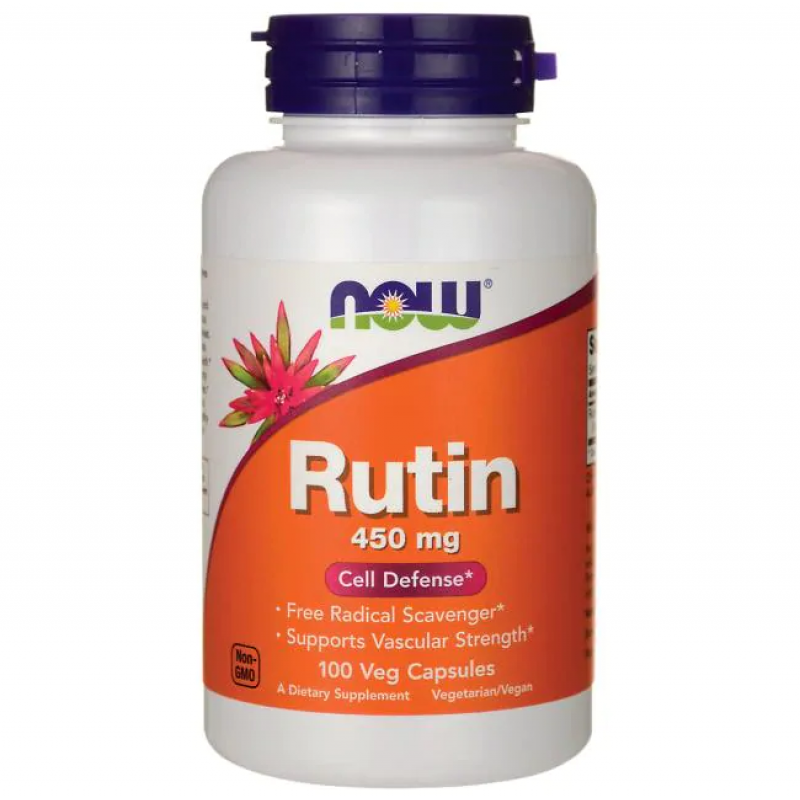 NOW Rutiin 450 mg 100 kapslit