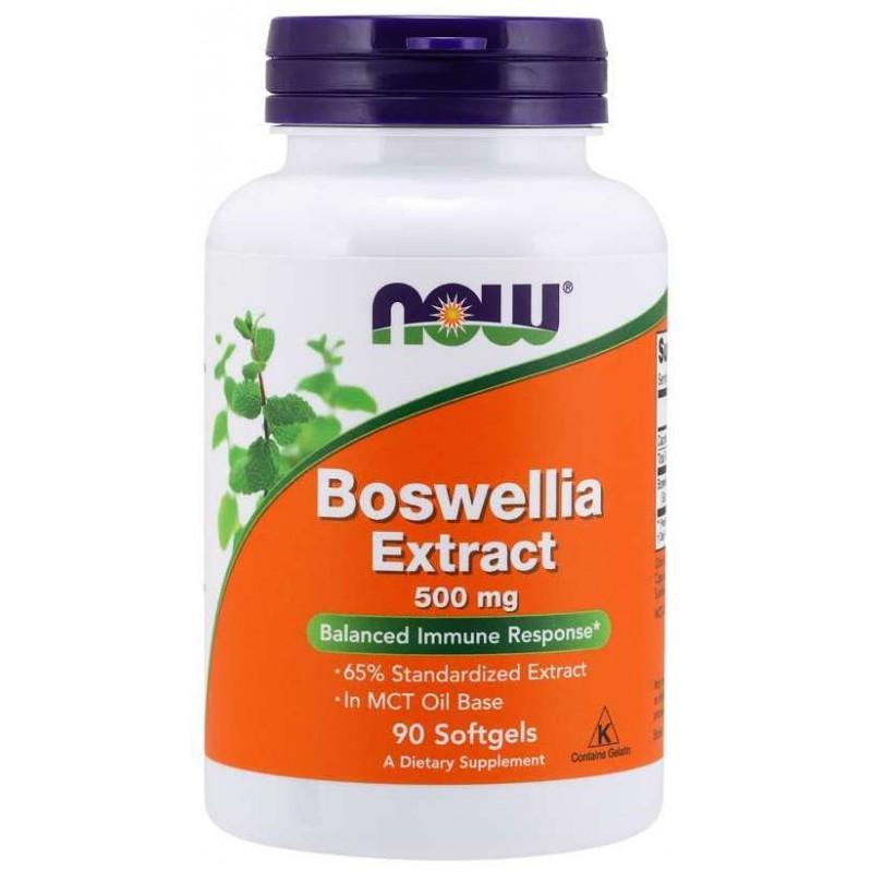 NOW Boswellia ekstrakt 500 mg 90 kapslit