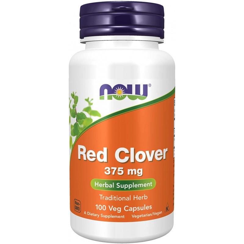 NOW Punane ristik 375 mg 100 kapslit