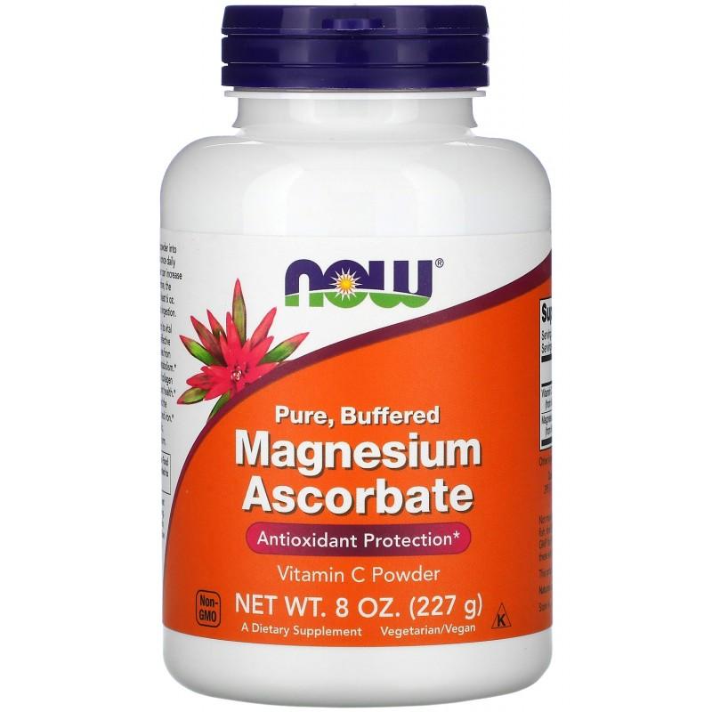 NOW Magneesiumaskorbaat 227 g