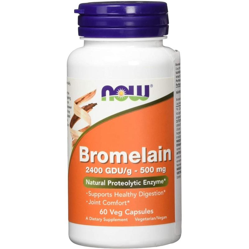 Bromelaiin 500 mg / 2400 ŽSÜ 60 kapslit