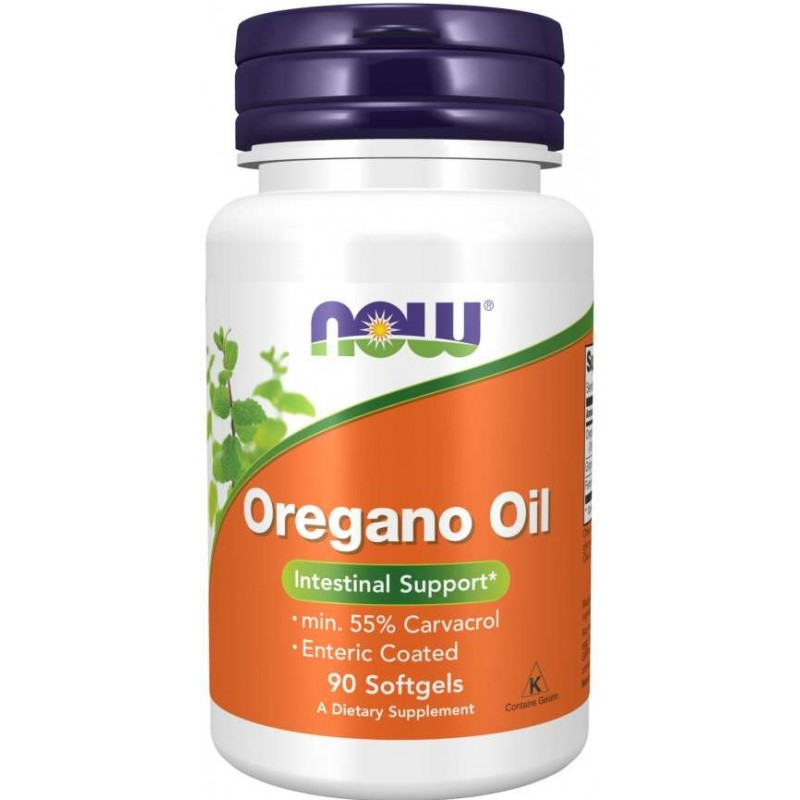 Oregano Oil enterokattega 90 geelkapslit