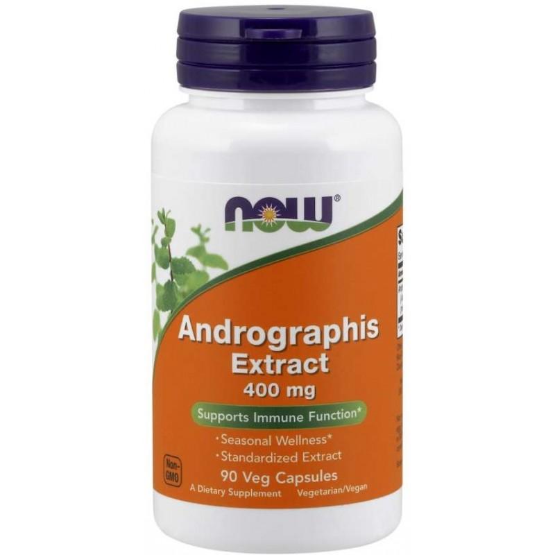 NOW Andrographis Extract 400 mg 90 vege kapslit