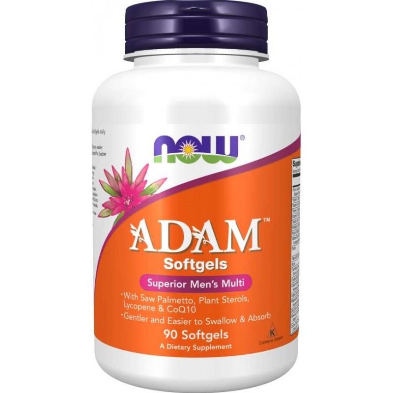 NOW Adam™ - Meeste multivitamiinid - 90 geelkapslit