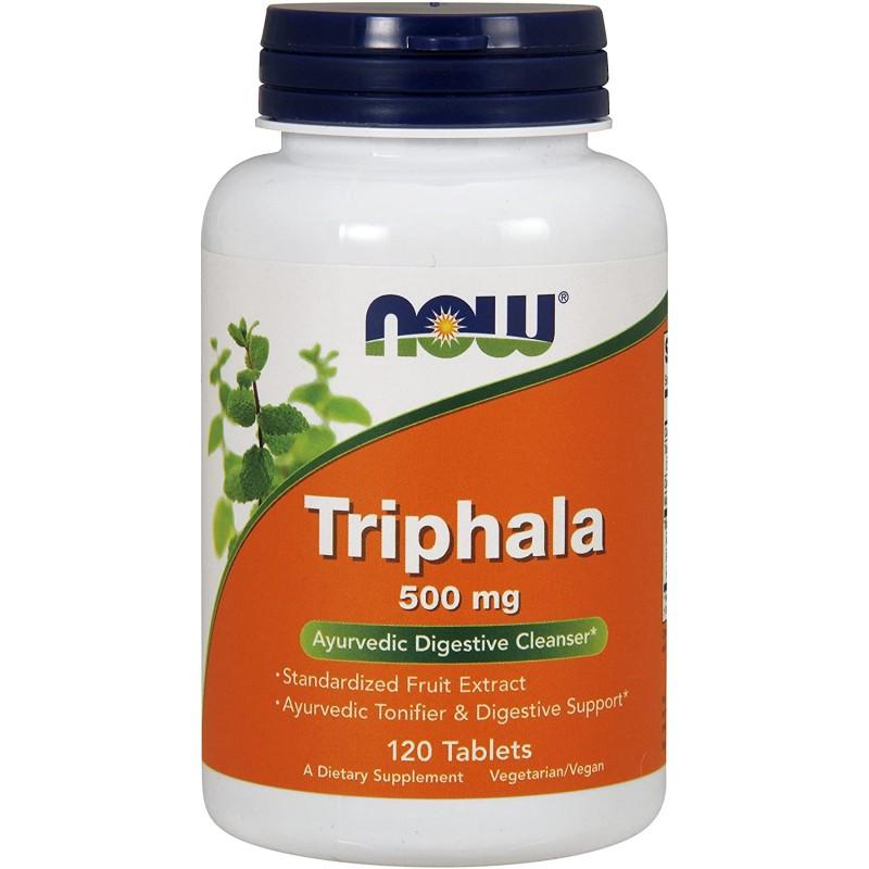 NOW Triphala 500 mg 120 tabletti