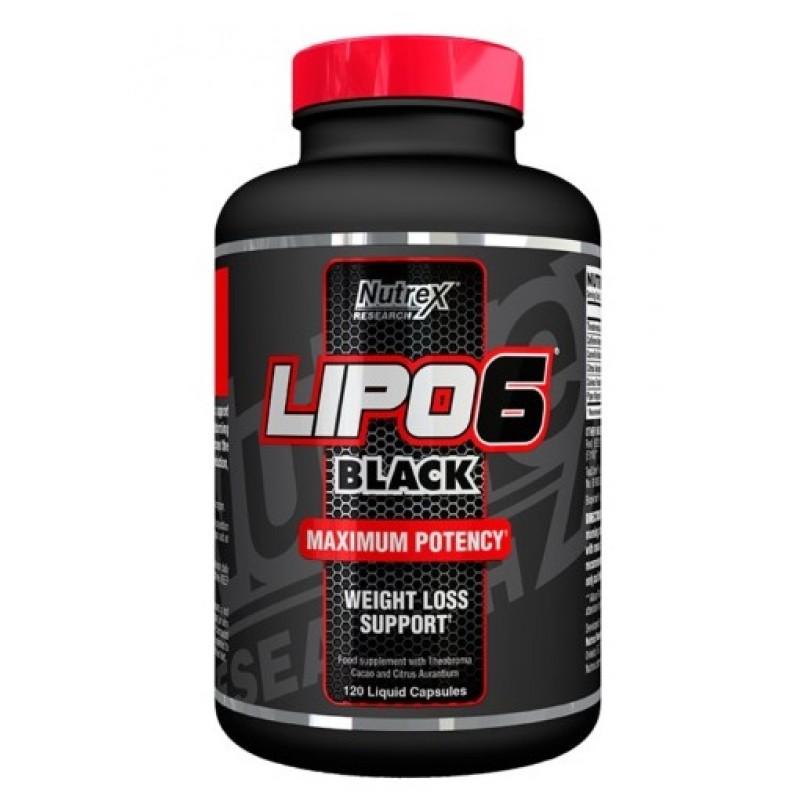Nutrex Lipo 6 black 120 cap