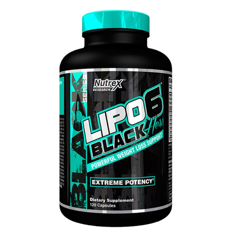 Nutrex Lipo 6 black Hers 120 cap
