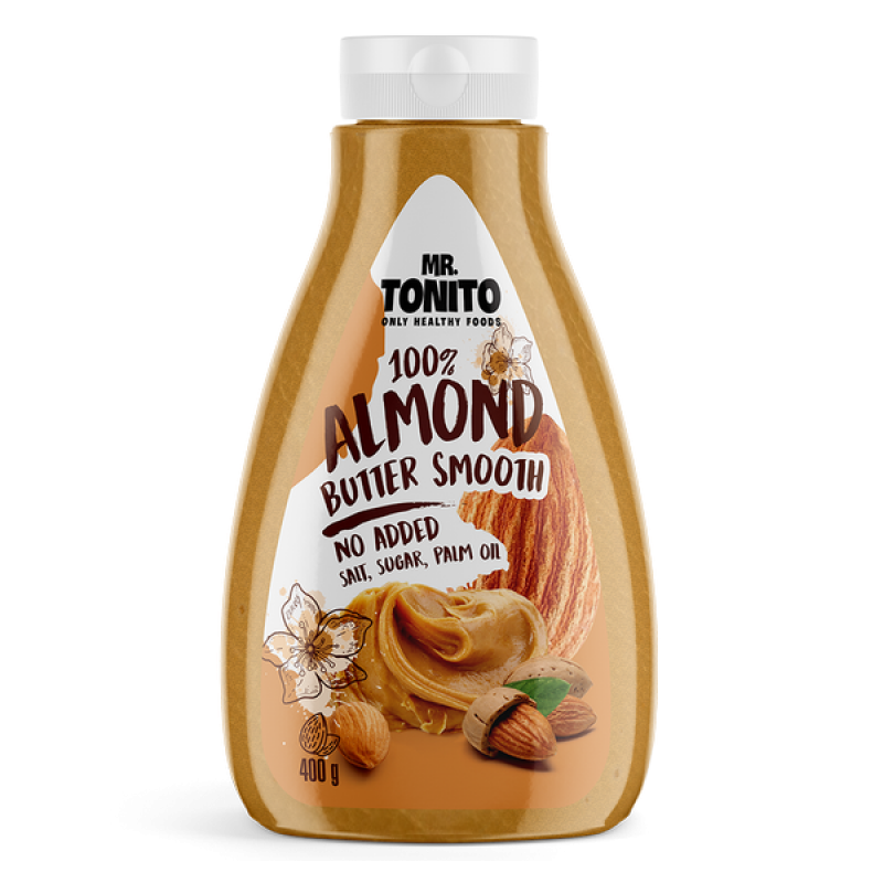 Mr. Tonito Almond Butter Smooth 400 g