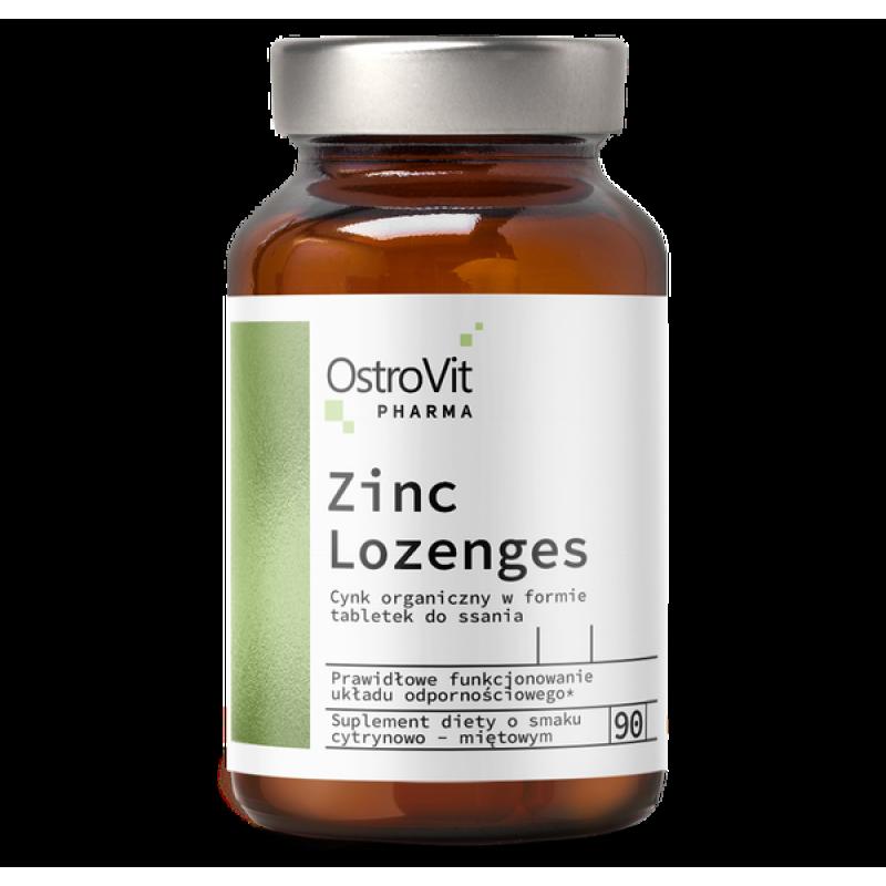 Pharma Zinc Lozenges 90 Tabs