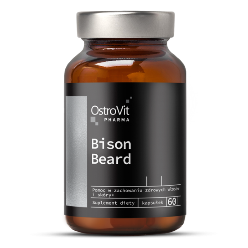 Pharma Bison Beard 60 kapslit