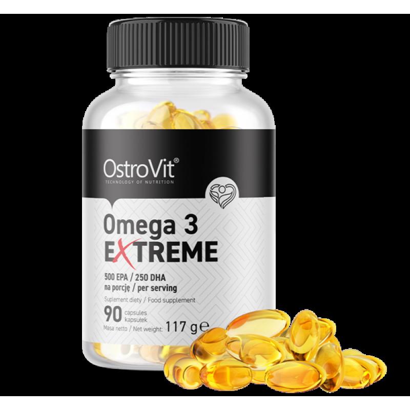Ostrovit Omega 3 Extreme 500 EPA / 250 DHA 90 kapslit