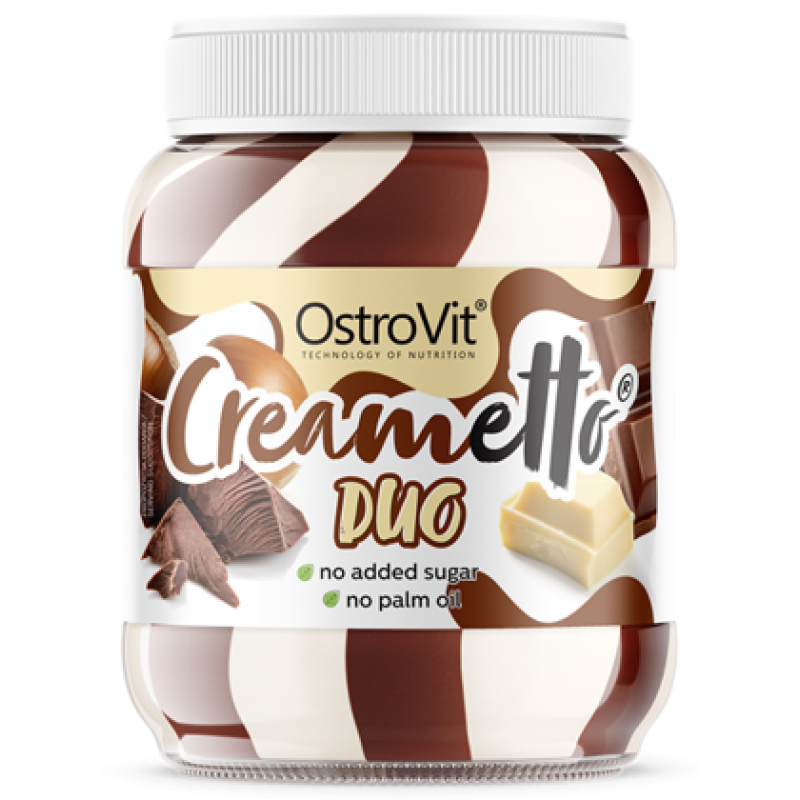 Creametto 350 g piima ja sarapuupähklite duett