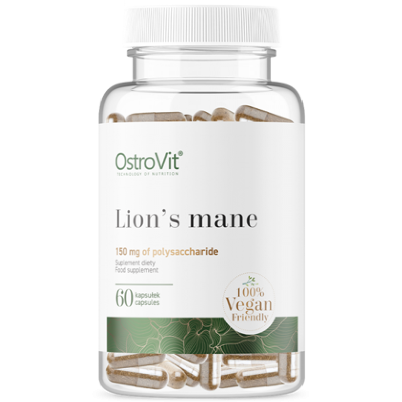 Ostrovit Lion's Mane VEGE 60 kapslit