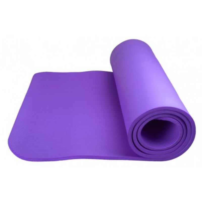 Power System Fitness yoga mat plus - võimlemismatt (1 sm) - lilla