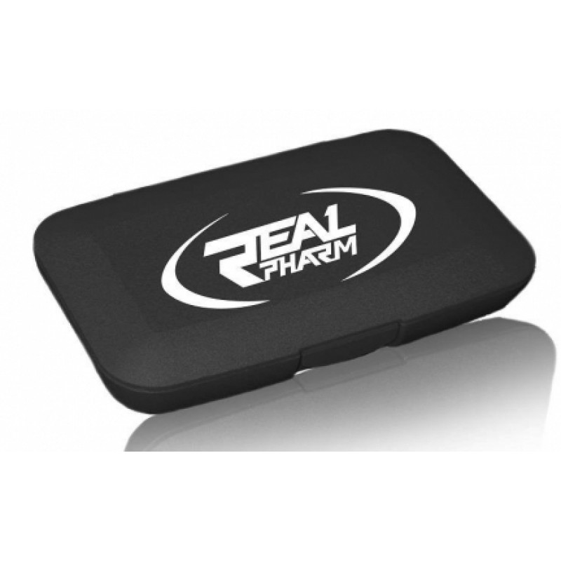 Real Pharm Pill box black foto