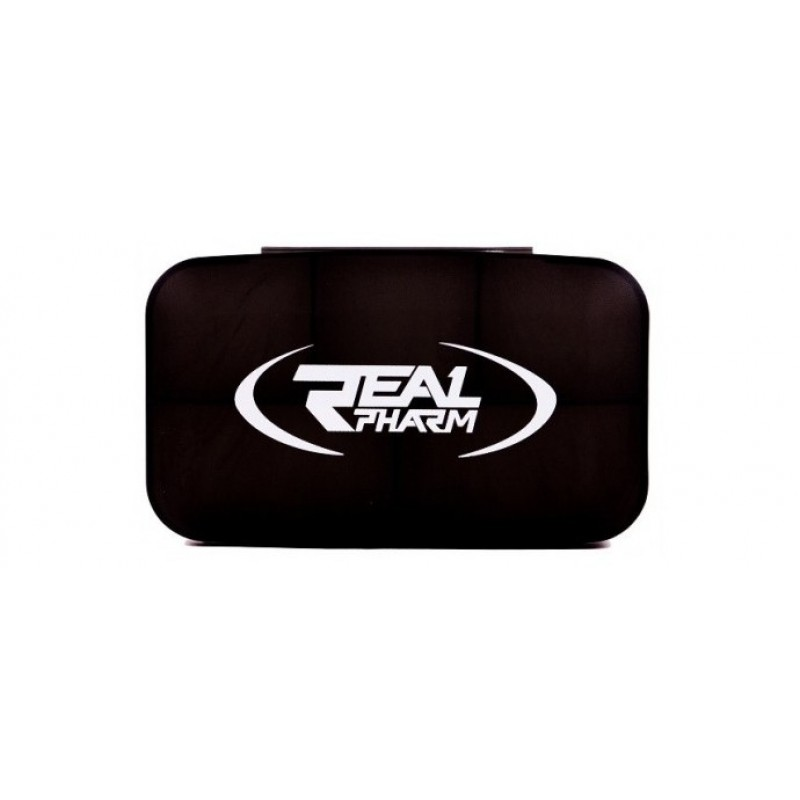 Real Pharm Pill box black