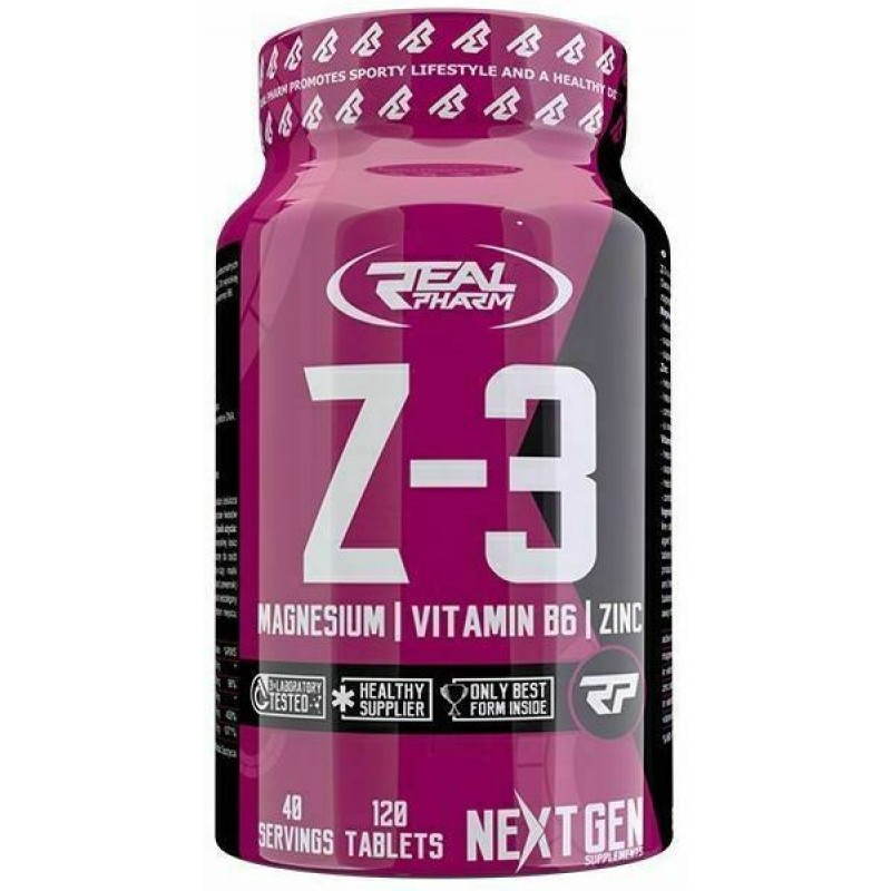 Real Pharm Z3 (zma) 120 tab