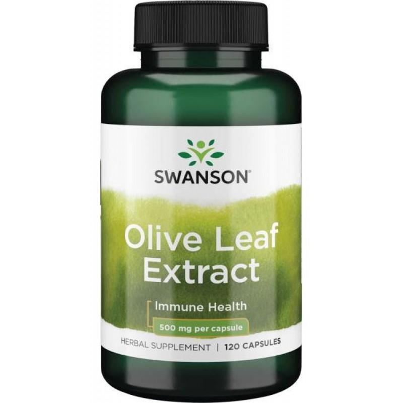 Oliivilehe ekstrakt 500 mg 120 kapslit