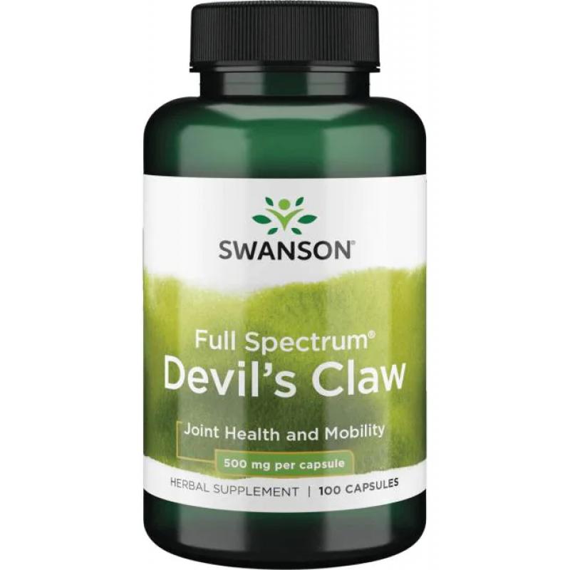 Swanson Devils Claw 500 mg 100 kapslit
