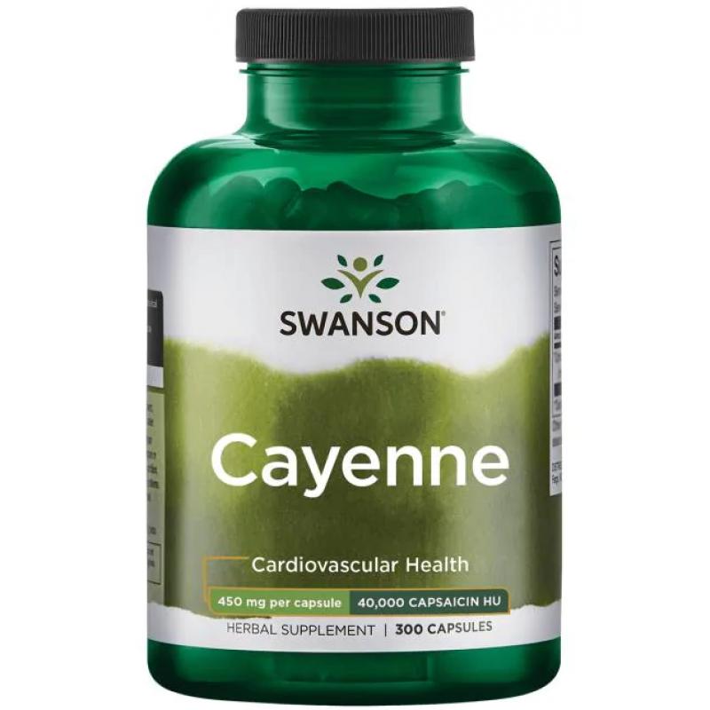Swanson Cayenne 300 kapslit