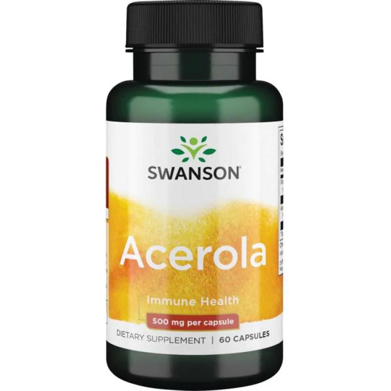 Swanson Acerola 60 kapslit