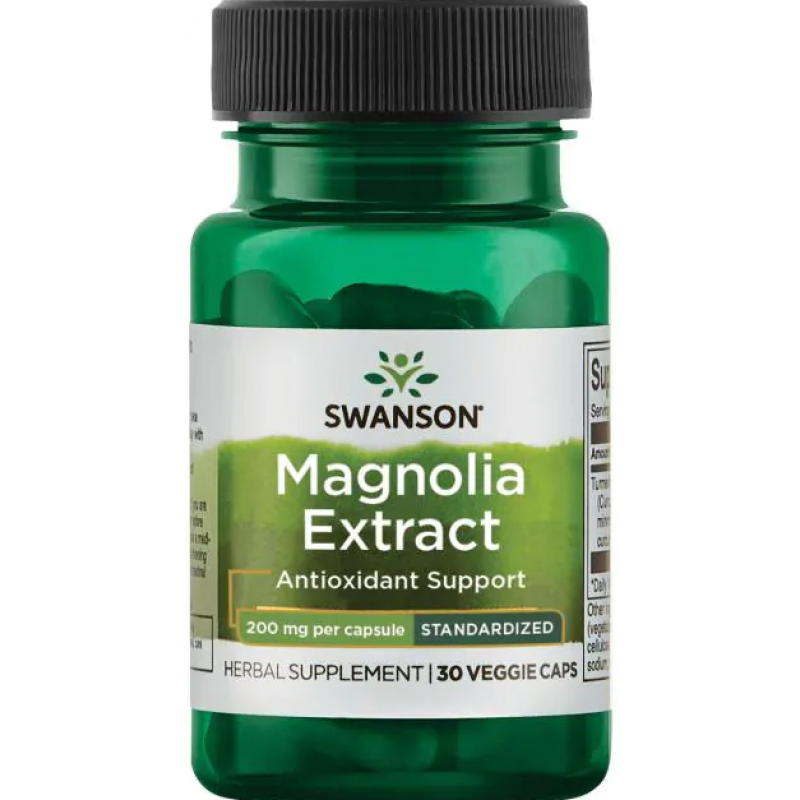 Swanson Magnolia extract 30 kapslit