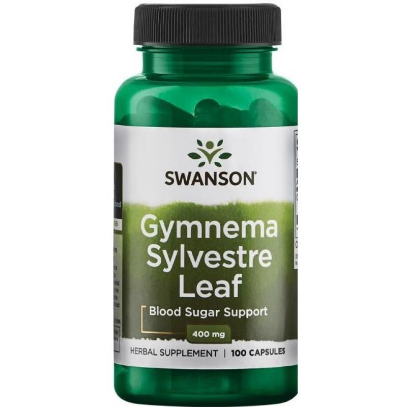 Swanson Gymnema sylvestre 100 kapslit