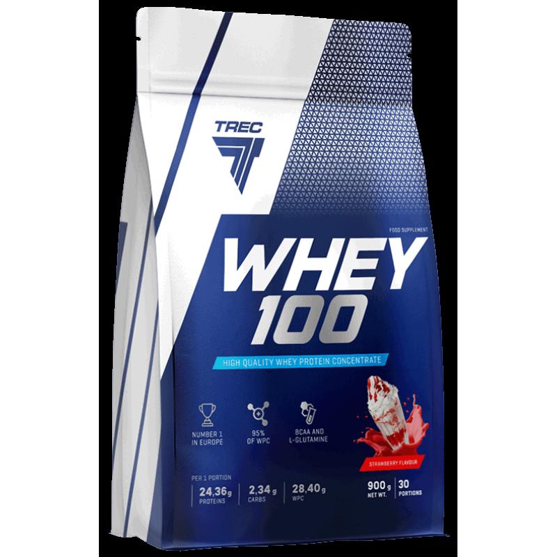 Trec Nutrition Whey 100 - 900 g vadakuvalk