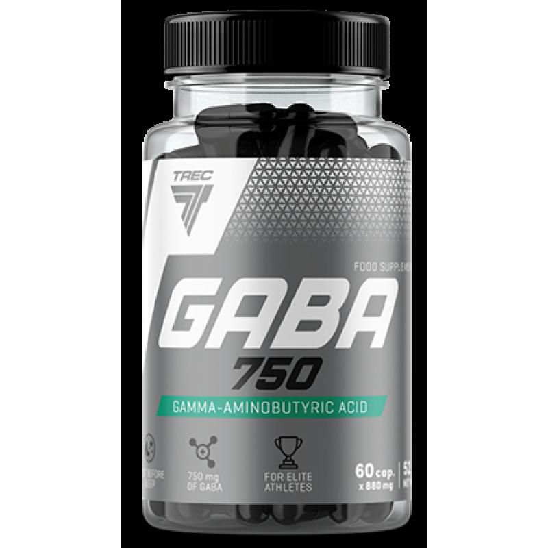 Trec Nutrition GABA 750 - gamma-aminovõihape- 60 kapslit