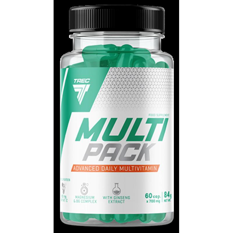 Trec Nutrition Multi Pack 36 - multivitamiin - 60 kapslit