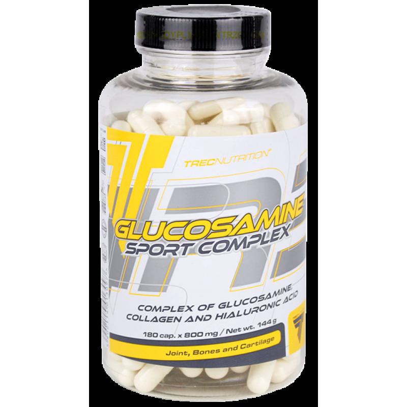 Trec Nutrition Glucosamine sport complex - glükosamiiniga toidulisand - 180 kapslit