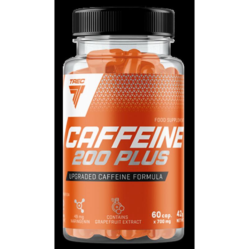 Trec Nutrition Caffeine 200 Plus - täiendatud kofeiin - 60 kapslit