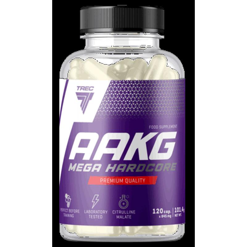 Trec Nutrition AAKG Mega Hardcore - L-arginiin ja L-tsitrulliin - 240 kapslit